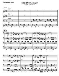 Sample sheet music score